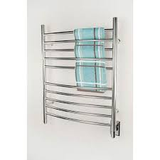 Towel Warmer Drawer Bathroom by Radiant Brushed Stainless Steel Curved Bar Towel Warmer Amba