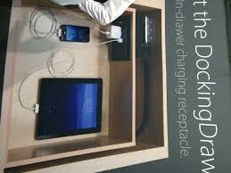 electronic charging station kbis electronics docking station innovation cabinetry design