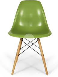 dsw eames dining chair replica timber green side chair furniture