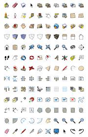 hi res tool icons for sketchup and layout sketchup blog