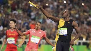 rio olympics 2016 men u0027s 400 x 1 relay final usain bolt triple