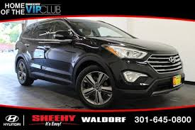 used 2013 hyundai santa fe limited used 2013 hyundai santa fe for sale in annapolis md edmunds