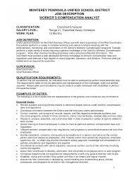 sle resume for applying job pdf file administrative coordinator job description template hotel resumes