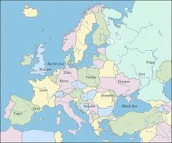 thames river map europe major rivers of europe quickgs com