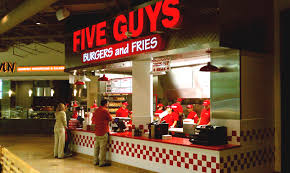 five guys hours five guys operating hours