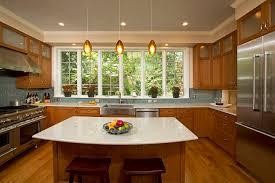 Granite With Cherry Cabinets In Kitchens Kitchen Renovation Cherry Cabinets Taj Mahal Quartzite Stone