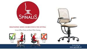 office chairs and office seating with spinalis ergonomic series chair u2026