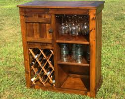 Wine Bar Cabinet Bar Cabinet Etsy