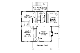 Floor Plans With Porches by Bungalow House Plans Lone Rock 41 020 Associated Designs