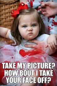 Angry Girl Meme - angry baby girl meme generator imgflip