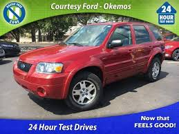 courtesy ford okemos perry mi used cars 2005 ford escape limited 4x4