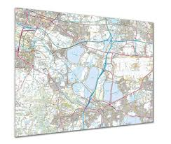 Map Poster Map Poster Custom Ordnance Survey Explorer Map From Love Maps On