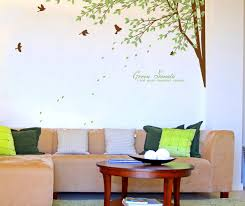 Tree Wall Decals For Living Room Large Tree Wall Decals For Nursery Wallstickery Com