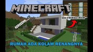 membuat rumah di minecraft minecraft modern house