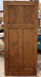 sw1113 prefinished interior knotty alder craftsman style door