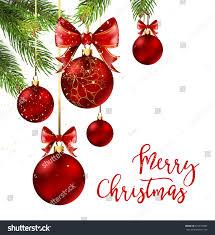 ribbon and bows christmas balls ribbon bows on stock vector 527613883