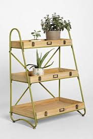 Industrial Bookcase With Ladder by 10 Easy Pieces Stepladder Plant Stands Gardenista