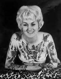 20 amazing vintage portrait photos of women with full body tattoos