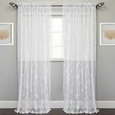 How To Wash Lace Curtains Bombay Massa Embroidered Sheer Window Curtain Panel Free