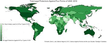 how laws around the world do and do not protect women from