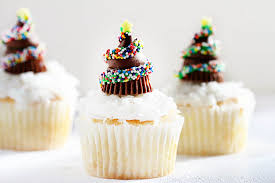 chocolate christmas tree cupcakes i am baker