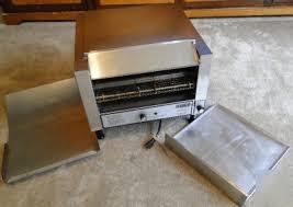 Holman Conveyor Toaster B714h Countertop Conveyor Toaster Oven W Trays