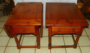 Pine End Tables Pair Mersman Pine End Tables Side Tables And 50 Similar Items
