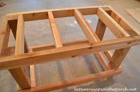 how to make a buffet table build a potting bench or garden buffet table pottery barn abbott