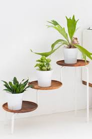 Design For Indoor Flowering Plants Ideas Exciting Black Painted Iron Tiered Pot Planter Introducing Arched