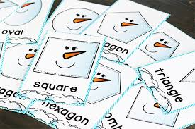 free printable shape playdough mats snowman shape play dough mats life over cs