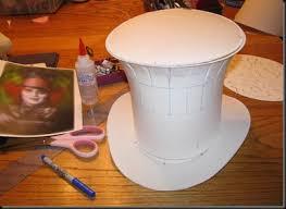 como hacer un sombrero de carton las manualidades de claudia todo sacado de la web 04 20 12