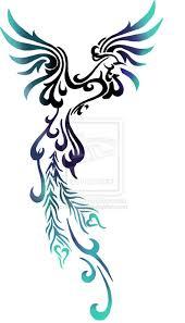 most feminine phoenix tattoo design ive seen looks really nice
