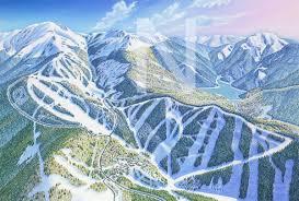 Ski Utah Map by Eagle Point Utah James Niehues Map Artist Ski Maps