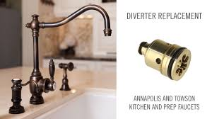 diverter replacement on annapolis and towson kitchen and prep