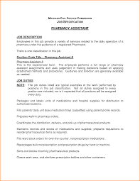 Cv For Pharmacy Technician Pharmacy Technician Duties Resume Free Resume Example And