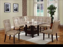 Dining Room Sets With Bench Seating by Kitchen Small Dining Room Sets Bar Height Dining Table Bench