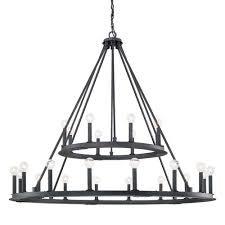 Chandelier Metal Capital Lighting Fixture Company Pearson Black Iron Twenty Four
