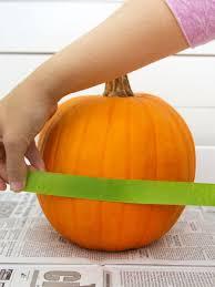 how to make a pretty fretwork pumpkin hgtv