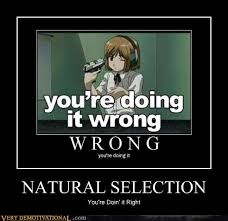 natural selection very demotivational demotivational posters