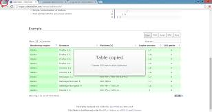 how to copy table from pdf to excel jquery why datatable tabletools export to pdf or excel or csv is