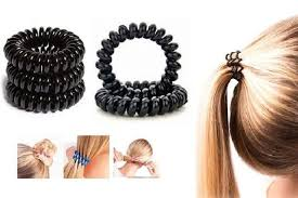 hair bobbles pack of 20 spiral hair bobbles
