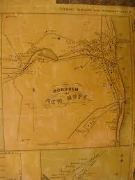 Map Of Bucks County Pa Ancestor Tracks Philadelphia Area Resources