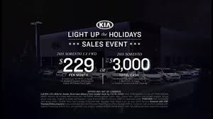kia light up the holidays sales event tv commercial 2018 sorento