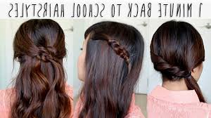 Easy And Quick Hairstyles For School Dailymotion | easy hairstyles for long hair for school step by step dailymotion
