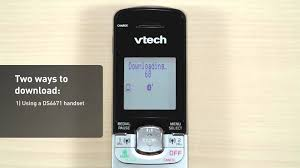 vtech ds6671 3 cordless phone system how to use the connect to