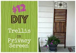 Wooden Trellis Panels 12 Outdoor Trellis Privacy Screen Diy Happyandsimple