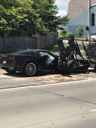 corvette car crash omaha car crash ends with getting arrested kptm