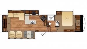 forest river wildcat 327re 5th wheel floor plan