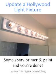 Best Primer For Bathroom by Update A Hollywood Light Strip Fixture