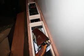 secret gun compartment in bed headboard stashvault
